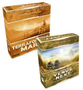 Kit Terraforming Mars: Jogo Base + Venus Next