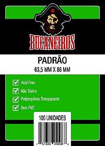 SLEEVES PADRÃO FIT (63,5MM X 88MM) - BUCANEIROS