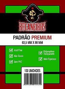 SLEEVES PADRÃO PREMIUM (63,5MM X 88MM) - BUCANEIROS