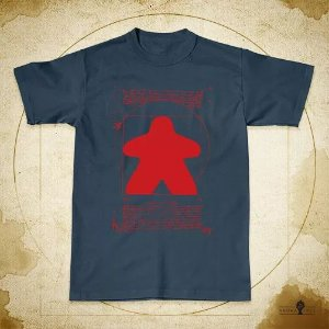 Camiseta Meeple Vitruviano