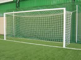 Rede Gol para futebol campo fio 5.0mm Nylon Moedelo (Europeu/Caixote) 1.50m Fundo.