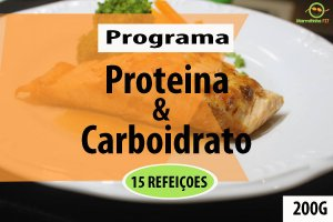 KIT 15 PROTEINA E CARBOIDRATO