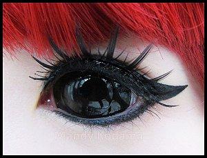 Black Sclera Lens - 22mm