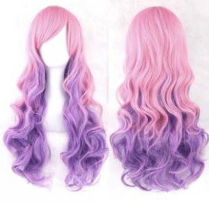 Peruca Lolita - Pink/Purple