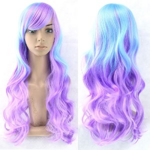 Peruca Lolita - Blue/Purple