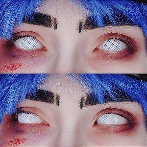Crazy Lens - Mesh Branca
