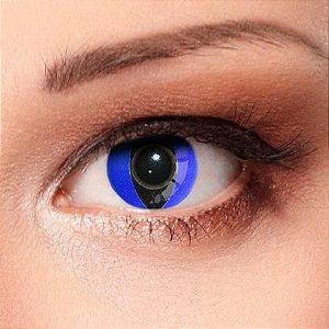 Crazy Lens - Olho de Gato Azul (Cat Eye Blue)