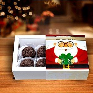 Caixa Noel com 4 Brigadeiros