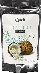 Coco Chips Sem Açúcar QualiCôco 40g