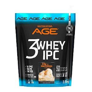 3Whey IPC AGE Pouch 1,8kg Baunilha