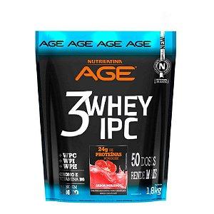 3Whey IPC AGE Pouch 1,8kg Morango