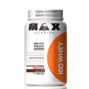 ISO Whey 900g Max Titanium Chocolate