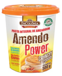 AmendoPower Crunchy Granulado 500g DaColônia