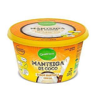 Manteiga de Coco sabor Manteiga com sal 200g QualiCôco