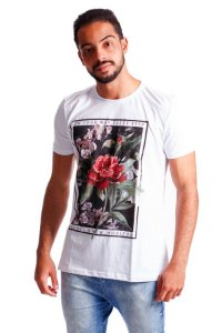 CAMISETA MASCULINA ESTAMPADA NEW HORIZON