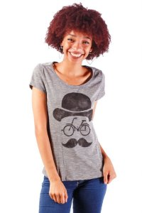 BLUSINHA FEMININA ESTAMPADA MR BIKE