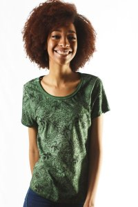 BLUSINHA FEMININA ESTONADA MONO JUNGLE