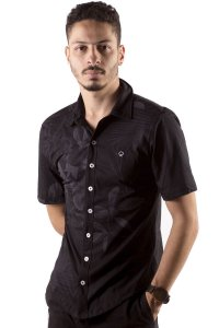 CAMISA MASCULINA FLORAL ORCHID