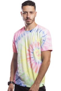 CAMISETA MASCULINA TIE DYE COLOR