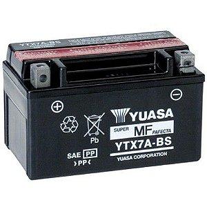 Bateria Yuasa YTX7A-BS |12V - 6Ah| Suzuki AN 125 Burgman, Daelim NS 125, Kymco 125 Jockei, People