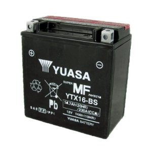 Bateria Yuasa YTX16-BS |12V - 14Ah| ZR1100 Suzuki1600 Marauder, Boulevard M95 Tiger 800