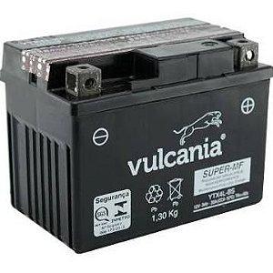 Bateria Vulcania YTX4L-BS, 12V, 3Ah AE/AY50, NX125 Bros, CG125 Fan/Cargo, Biz100, TTR125, Jog50