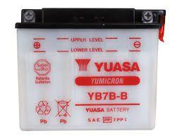 Bateria Yuasa YB7B-B |12V - 7Ah| CBX 150, NX 150, CBX 200, NX 200, XR 200, NX 350, TDM 225, XT 225