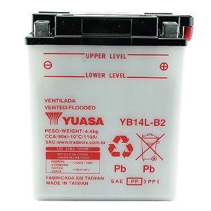 Bateria Yuasa YB14L-B2 |12V - 14Ah| CBR1000F LS650 F, P, Savage DR750S GSX1100F Katana