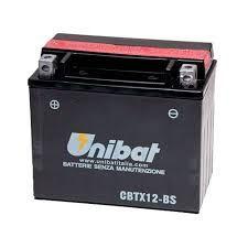 Bateria Unibat CBTX12-BS, 12V, 10Ah, Versys650, TDM850, GSX-R1100W, Vulcan 900, 1200Bandit