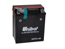 Bateria Unibat CBTX7L-BS |12V - 6Ah| CBX250 Twister| XR250 Tornado| NX4 Falcon| CBX300| CB600 Hornet| CG150 Titan| Fazer250