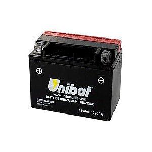 Bateria Unibat CT12A-BS |12V - 10Ah| GSX1300R Hayabusa| GS1299 Bandit| GSXR1000| SV650S
