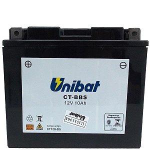 Bateria Unibat CT12B-BS 12V 10Ah Drag Star 650, Hypermotard Scambler, Monster, YZF-R, ZX-10R