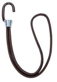 Elástico Fixador Lona MSextensor Corda 35 cm Gancho Ferro Preto 50 und