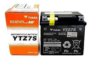 Bateria Yuasa YTZ7S CBR1000RR PCX150 XRE300 CRF450X ZX10R WR450F YZF-R1 YZF-R6 KLX450R