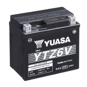 Bateria Yuasa YTZ6V 5Ah CG125 Fan Titan Bros Biz 125 XRE 300