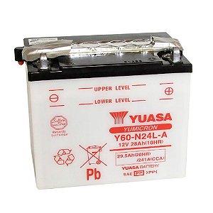 Bateria Yuasa Y60-N24L-A 28Ah Kawasaki ZN1300 A (83 - 92)