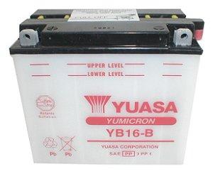 Bateria Yuasa YB16-B, 19Ah, Harley Davidson XLH 883 1000 1100, FX 1200 1340
