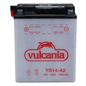 Bateria Vulcania YB14-A2 14Ah CBX 750 Galo CBF1000 importada