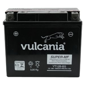 Bateria Vulcania YT12B-BS 10Ah Drag R1 R6 TMD 850 ZX10 XJ-6
