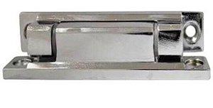 Dobradiça para Balcão Refrigerado N°6 Cromada
