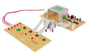 Placa Potência e Interface Lavadora Brastemp BWB08 Versão 1 CP1439 W10315806