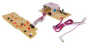 Placa Potência e Interface Lavadora Brastemp BWC07 BWC08 CP0540 326050620 Bivolt