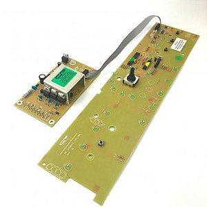 Placa Potência e Interface Lavadora Brastemp BWL11 Versão 2 CP1045 W10301604 Bivolt