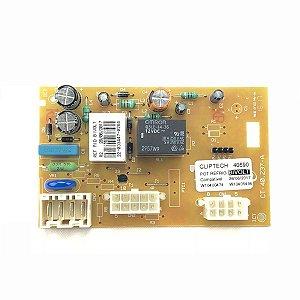 Módulo Controle Eletrônico Geladeira Consul CRM50 Cliptech Bivolt W10400474 W10405496