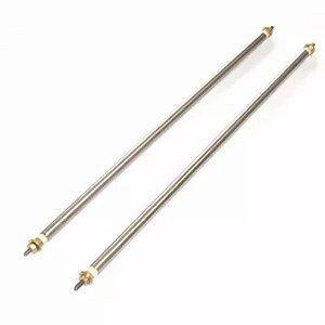 Resistência Estufa Tubular Reta Inox 1000mm 550W