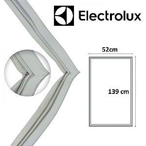 Gaxeta Borracha Porta Refrigerador Electrolux R28 RE29 F210 139x52 Aba Dupla