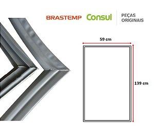 Gaxeta Borracha Porta Refrigerador Brastemp Quality 330L 360L 139x59