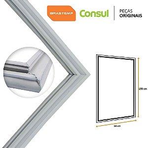 Gaxeta Borracha Porta Refrigerador Brastemp Consul 155x58