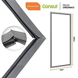 Gaxeta Borracha Porta Refrigerador Consul Contest 280L 129x59