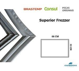 Gaxeta Borracha Porta Refrigerador Consul Superior 66x33 Biplex